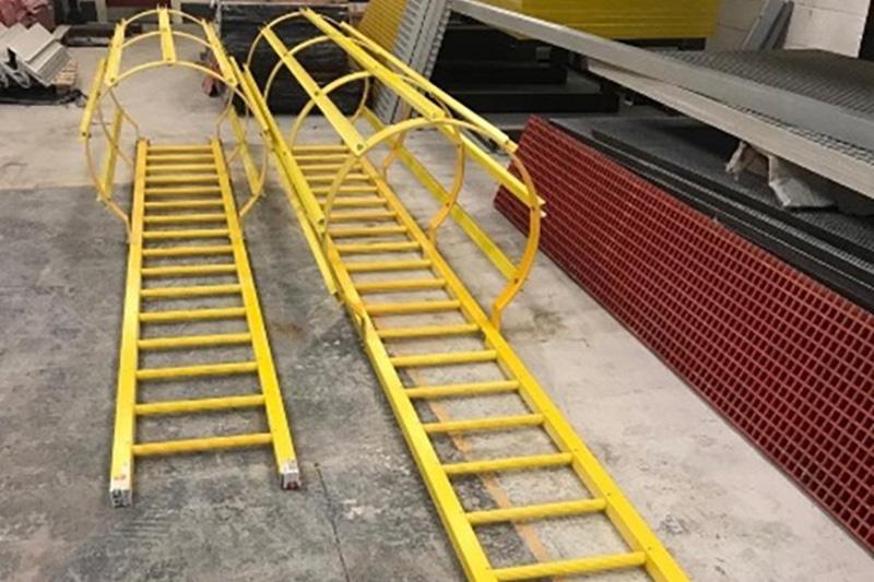 Escaleras de gato escaleras de barco prfv