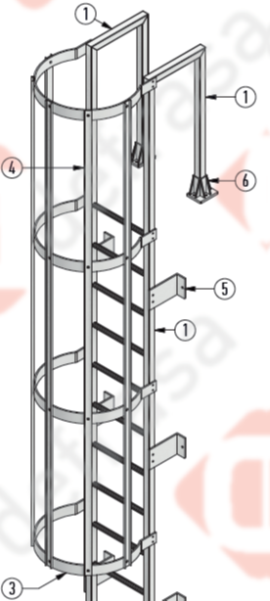 Defrasa PRFV Escaleras de Gato - 5
