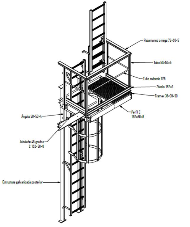 Defrasa PRFV Escaleras de Gato - 6
