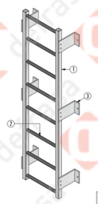 Defrasa PRFV Escaleras de Gato - 1