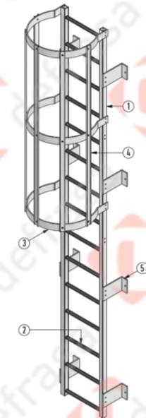 Defrasa PRFV Escaleras de Gato - 3